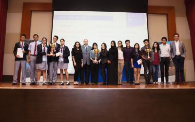 UAE Inter-School Business Challenge 2016 was a big success!