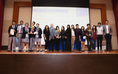 UAE Inter-School Business Challenge 2016 was a big success!