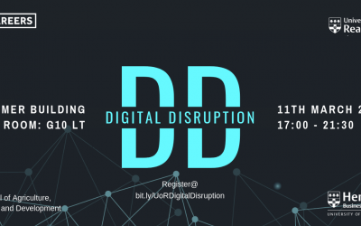 Digital Disruption Conference at the University of Reading