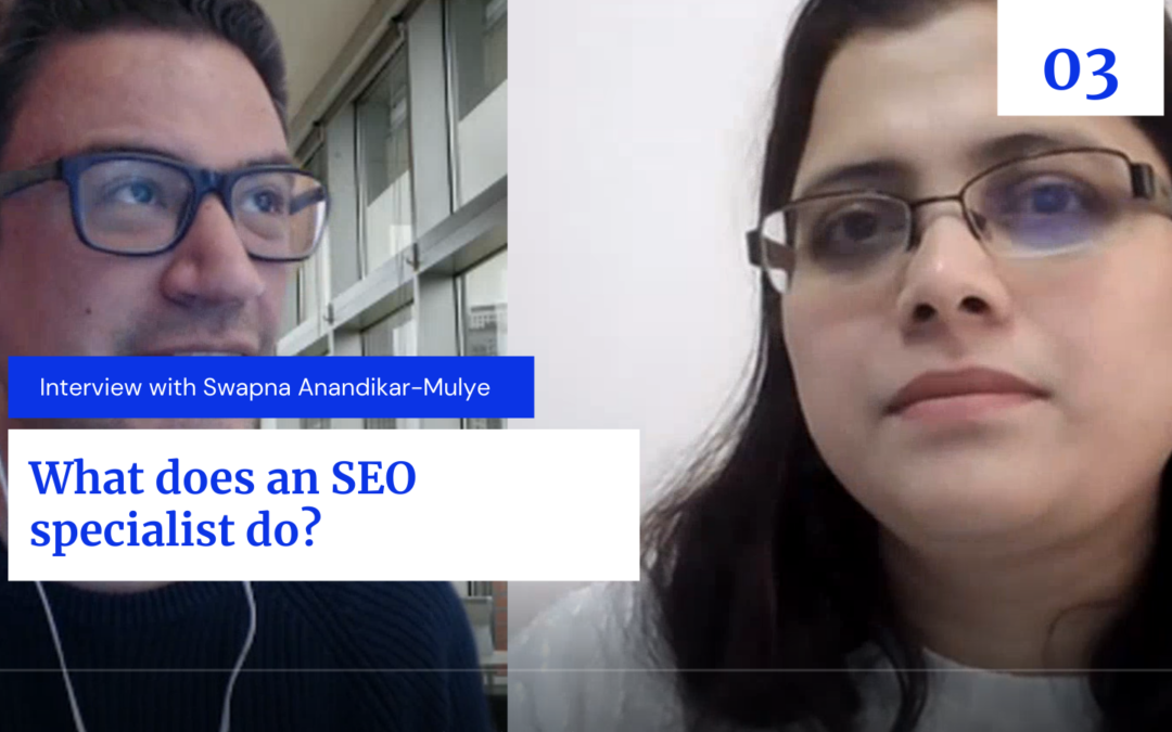 What does an SEO specialist do?
